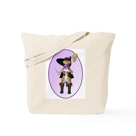 Cartoon Cat Tote Bag