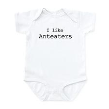 I like Anteaters Infant Bodysuit
