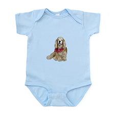 Cocker (buff-w/scarf) Infant Bodysuit