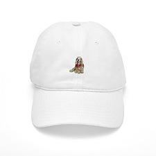 Cocker (buff-w/scarf) Baseball Cap
