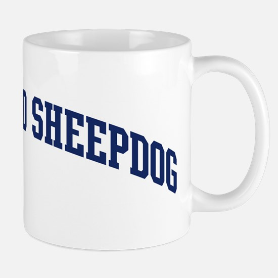 Bergamasco Sheepdog (blue) Mug