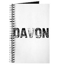 Davon Journal