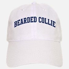 Bearded Collie (blue) Baseball Baseball Cap