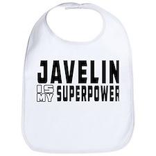 Javelin Is My Superpower Bib