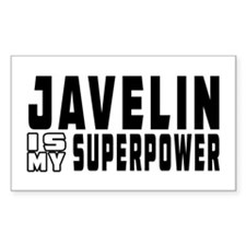 Javelin Is My Superpower Decal