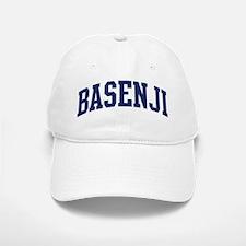 Basenji (blue) Baseball Baseball Cap
