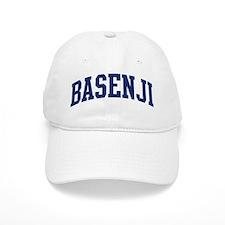 Basenji (blue) Baseball Cap