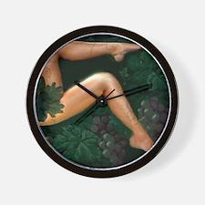 Fine As Wine Wall Clock