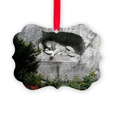 Lion of Lucerne Ornament