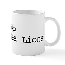 I like Steller Sea Lions Mug