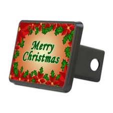 Christmas flowers Hitch Cover