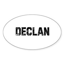Declan Oval Decal
