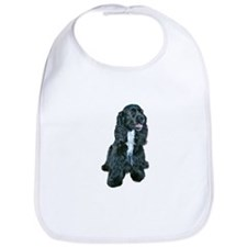 Cocker (black- white bib) Bib