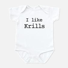 I like Krills Infant Bodysuit