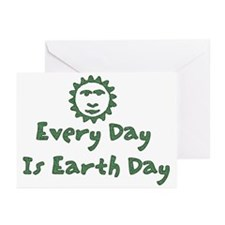 Every Day Is Earth Day Greeting Cards (Package of