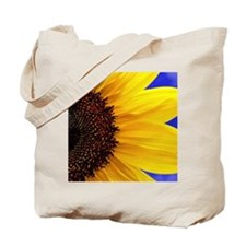 Bold Sunflower (Helianthus annuus) Tote Bag