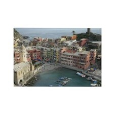 View on Vernazza Rectangle Magnet