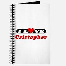 I Love Cristopher Journal