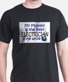 Best Electrician In The World (Mommy) T-Shirt