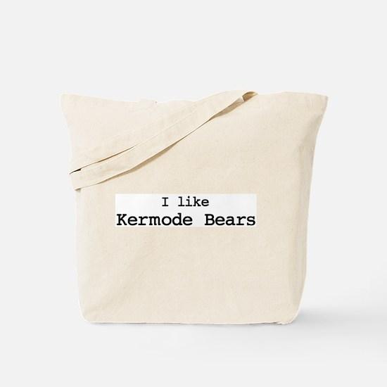 I like Kermode Bears Tote Bag