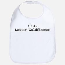 I like Lesser Goldfinches Bib