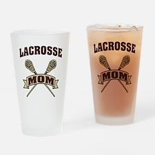 Lacrosse Mom Drinking Glass
