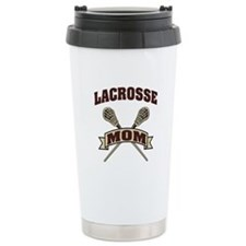 Lacrosse Mom Travel Coffee Mug