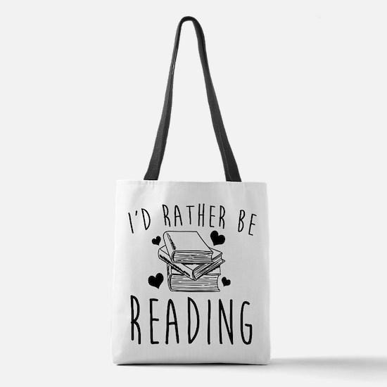 Unique Library books Polyester Tote Bag