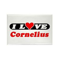 I Love Cornelius Rectangle Magnet