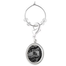 Monument valley Oval Wine Charm