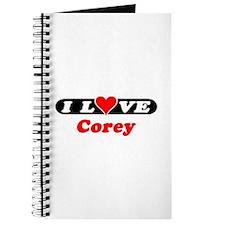 I Love Corey Journal