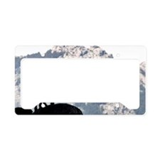 Goat and calf License Plate Holder