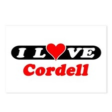 I Love Cordell Postcards (Package of 8)