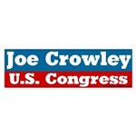 Joe Crowley for Congress Bumper Sticker