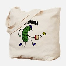 Pickleball Pickle Art Tote Bag