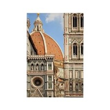 Dome of Duomo Rectangle Magnet