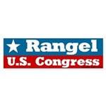 Charlie Rangel for Congress Bumper Sticker