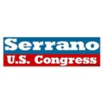 Jose Serrano for Congress Bumper Sticker