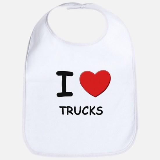 I love trucks  Bib
