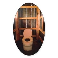 Composting toilet Decal