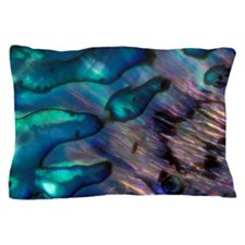 Abalone Shell enamel patterns, Pacific Pillow Case
