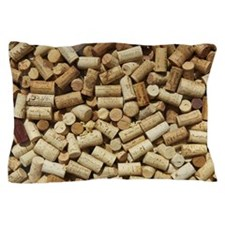 Display of corks at a restaurant in Wa Pillow Case