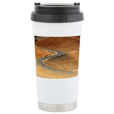 Curve in Iceland with b Travel Mug