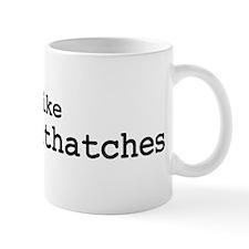 I like Pygmy Nuthatches Mug
