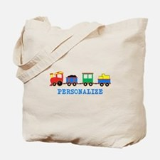 Personalized Kids Choo Choo Train Tote Bag