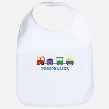 Personalized Kids Choo Choo Train Bib