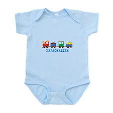 Personalized Kids Choo Choo Train Body Suit