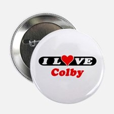 I Love Colby Button