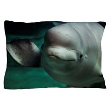 Beluga or White Whale Pillow Case
