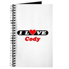 I Love Cody Journal